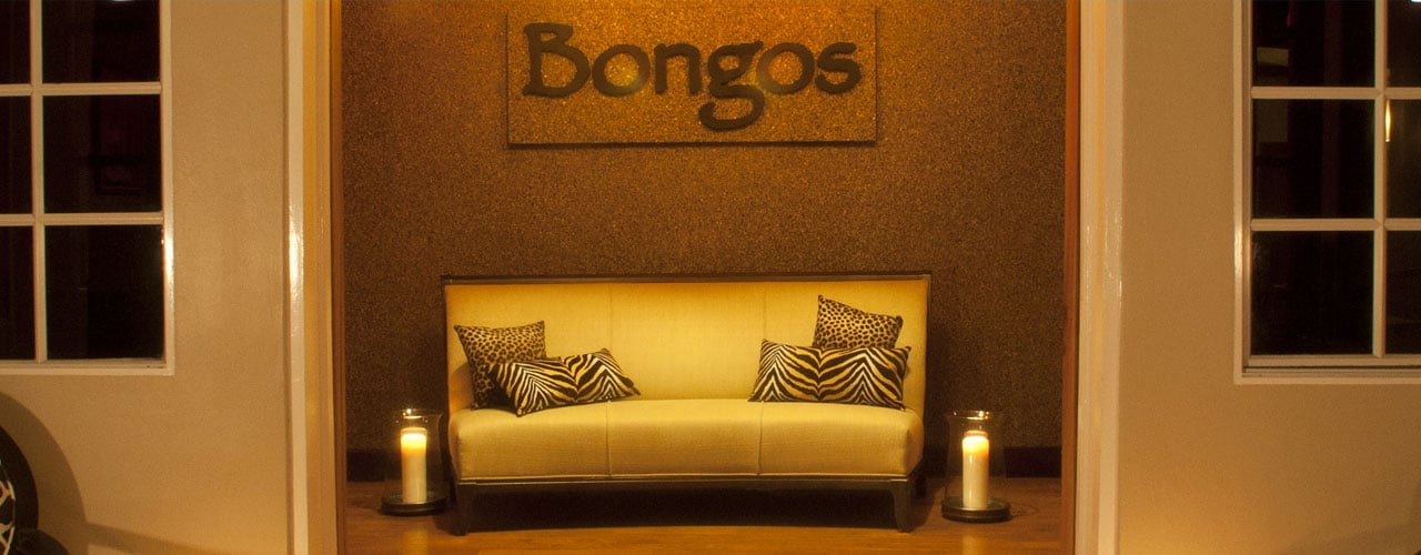 Entrance to bongos restaurant
