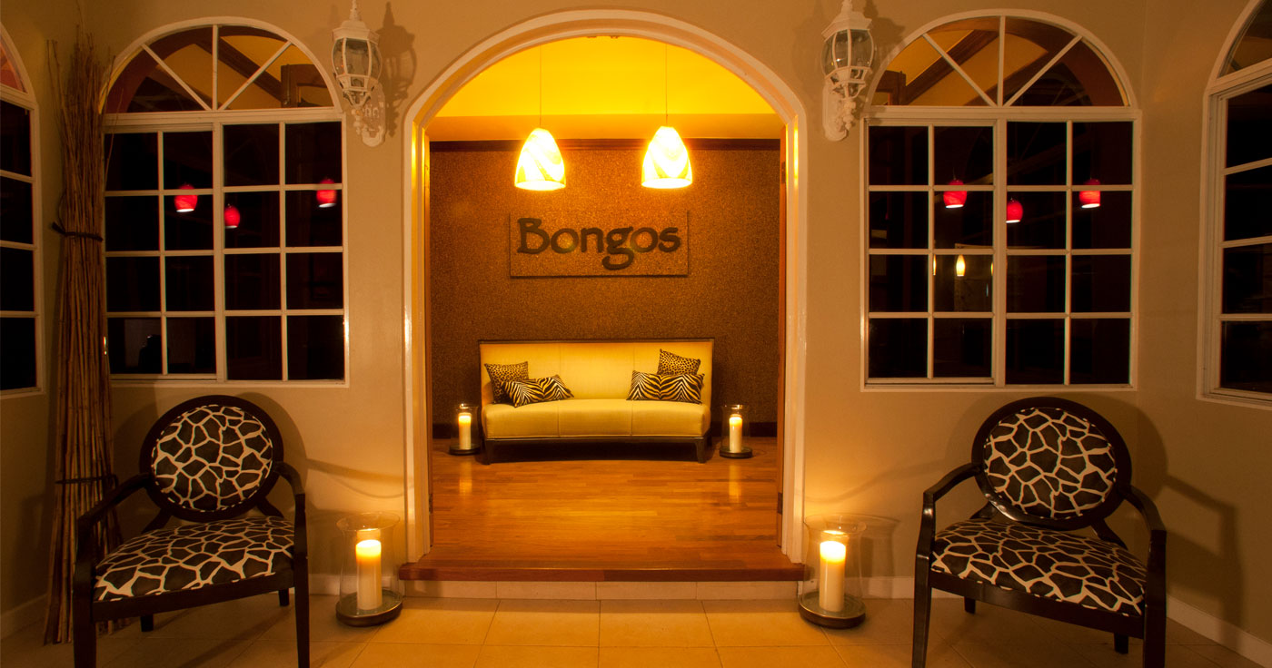 Front entrance to Bongo Restaurant