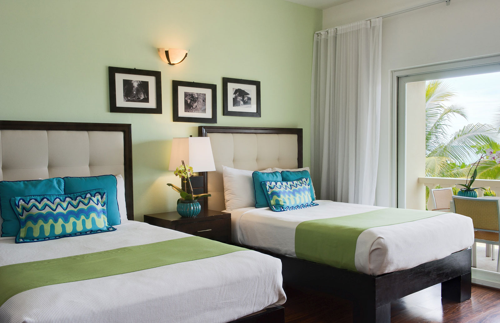 Garden View Double Bed