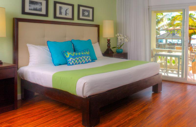 ocean front king bed